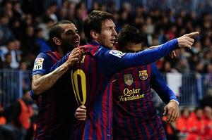 Leo Messi najlepszy Pichichi w Barçy