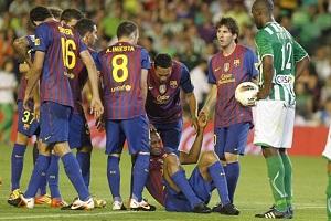 Oceny za mecz Betis Sevilla – FC Barcelona