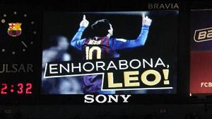 11 Pichichi dla FC Barcelony