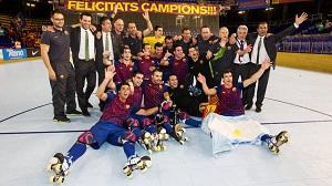 FC Barcelona mistrzem Hiszpanii!