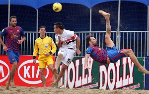 Barça awansowała do 1/4 Mundialu w piłce plażowej