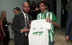 Beticismo podziękowało Puyolowi za wsparcie dla Roqué