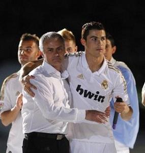 Mourinho: Złota Piłka dla Cristiano, nie dla Messiego