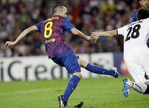 Iniesta i najlepszy gol Ligi Mistrzów