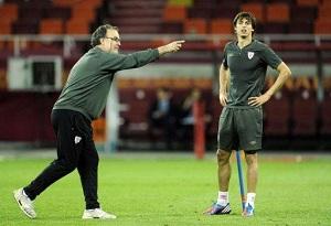 Iturraspe i Ander Herrera nie trenowali