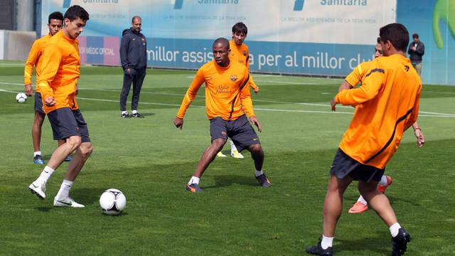 Ostatni trening w Ciudad Deportiva