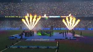 Celebracja na Camp Nou