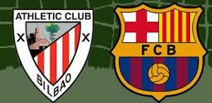 Statystyki: Athletic Bilbao 0-3 FC Barcelona