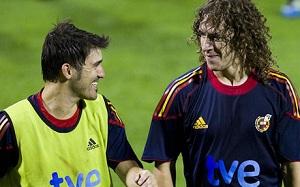 Puyol i Villa z reprezentacją od 1 czerwca