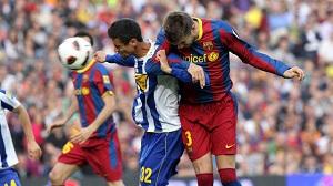 Derby Barcelony na Camp Nou