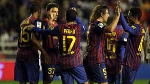 Oceny za mecz Rayo-Barça