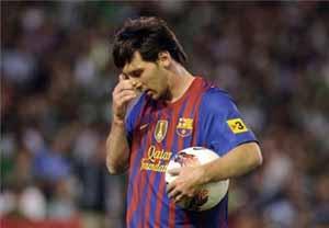 Messi kończy ligę bez bramki