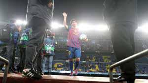 Messi najlepszym strzelcem Ligi Mistrzów