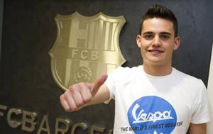 Pierwszy transfer Barçy B