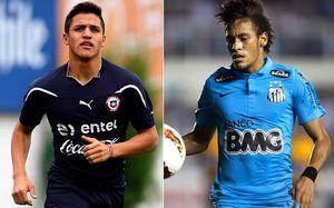 Alexis zmierzy się z Neymarem