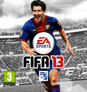 Messi na okładce FIFA 13