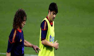 Villa i Puyol przylecą na finał Euro 2012