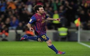 Messi najbardziej produktywnym graczem sezonu 2011/2012
