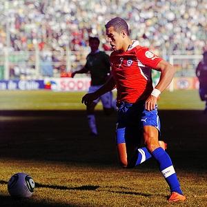 Alexis sprawił problemy Boliwii