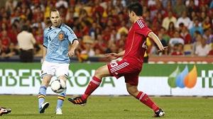 Iniesta błyszczał w meczu z Chinami