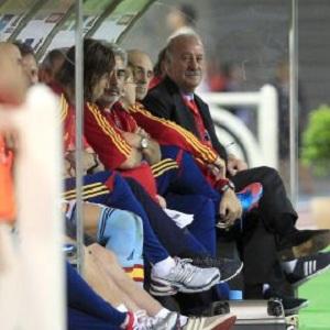 Del Bosque zaskoczony dobrą grą piłkarzy Barçy