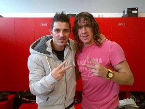 Puyol i Villa kontynuują rehabilitację w Barcelonie