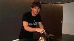 Messi odpoczywał w Rosario