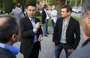 Zubi i Bartomeu spotkali się z Orobitgem w sprawie Tito