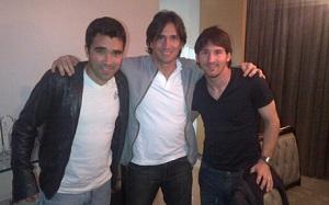 Messi na kolacji z Deco