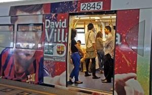 Barça atakuje metro w Bangkoku