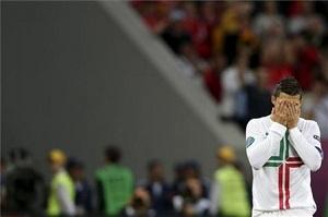 Cristiano Ronaldo kpi z Messiego