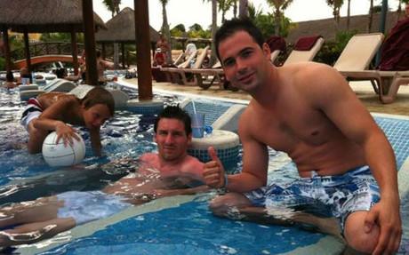 Rodzinny urlop Messiego w Riviera Maya