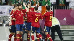 Siedmiu z ośmiu pozostało na Euro