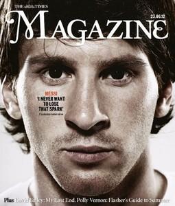 """Leo Messi – gwiazda """"The Times Magazine"""""""