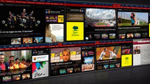 Oficjalna strona FC Barcelony we francuskiej i arabskiej wersji