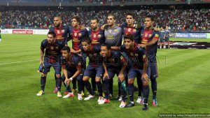 Barcelona liderem jak rok temu