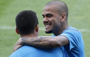 Alves: Messi najlepszy na świecie