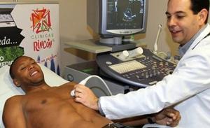 Baptista na testach medycznych w Barcelonie