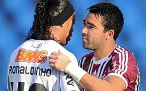Deco i Ronaldinho, jak za dawnych lat