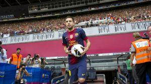 Ponad 10.000 fanów witało Albę na Camp Nou