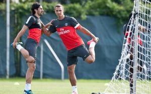 Ibra rozpoczął treningi w PSG