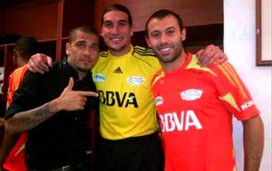 Gracze Barçy wspierali La Roja na Twitterze