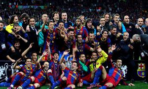 Trójka i dublet FC Barcelony po triumfach La Roja