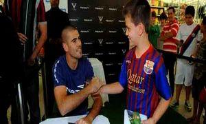 Valdés z fanami w Brazylii
