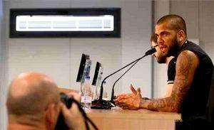 Dani Alves: Wszystko w porządku