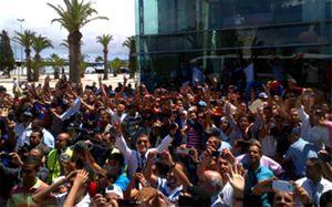 Messi i Afellay prześladowani w Tangerze