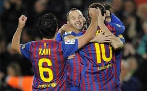 Czterech piłkarzy Barçy w top 32 UEFA