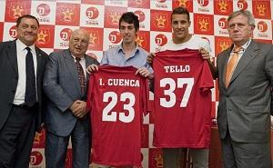 Cuenca i Tello w CF Damm