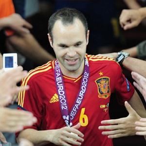 Iniesta najlepszym piłkarzem Euro 2012