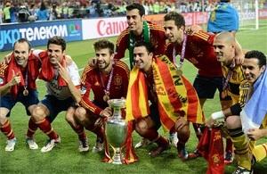 Barça także przeszła do historii Euro